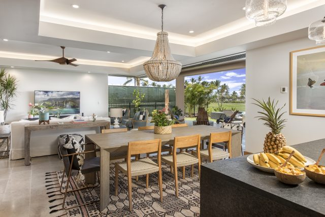 Equity Residences Hawaii Mauna Lani Resort home modern kitchen