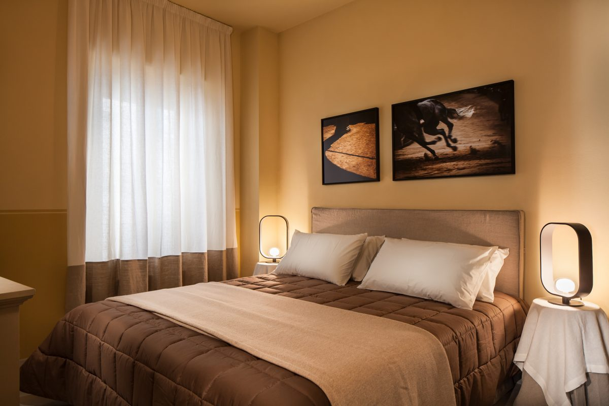Tuffo bedroom in Equity Residences Siena penthouse