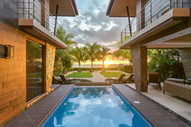 Equity Residences Costa Rica Potrero luxury home on the beach overlooks Pacific Ocean
