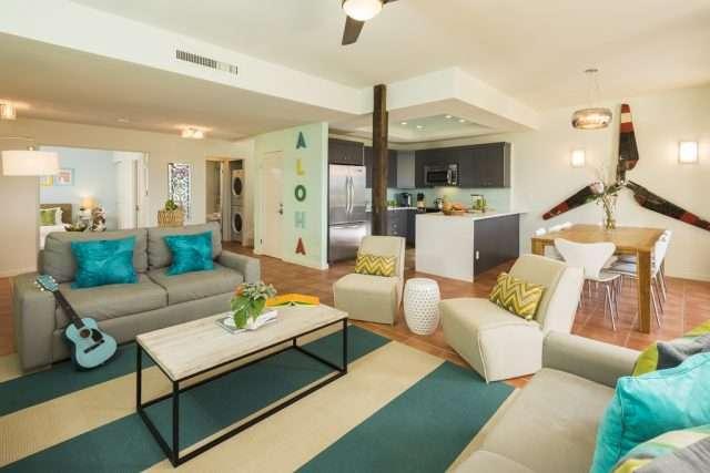 Equity Residences Kapalua Golf Villa Maui Living Room