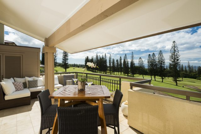 Equity Residences Kapalua Golf Course Villa View